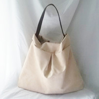 Tan Hobo bag  Suede Hobo bag  Ultra Suede Animal by ACAmour