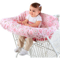Walmart: Bright Starts Comfort & Harmony Cozy Cart Cover, Pink Morocco