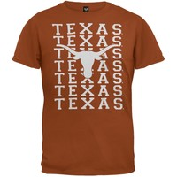 Texas Longhorns - Team & Logo Girls Youth T-Shirt - Youth 20