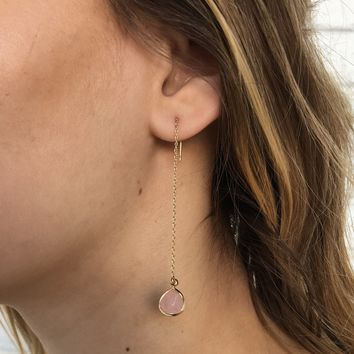 Perfectly Pink Dangle Earrings