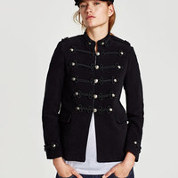 MOLESKIN TOGGLE JACKET DETAILS