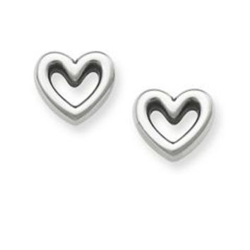 Heart Ear Posts | James Avery