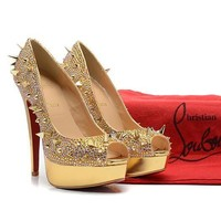 CL Christian Louboutin Fashion Heels Shoes-131