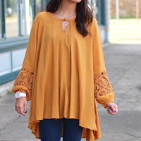 Changing Directions Tunic {Toffee}