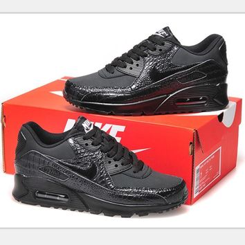 NIKE AIR MAX Women Man fashion sneaker sports shoes pure black bright scale  H-MDTY-SHINING