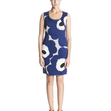 MOVA MARIMEKKO DRESS BLUE/GREY