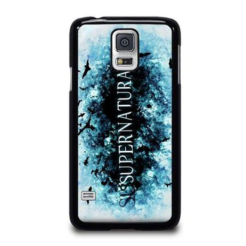 SUPERNATURAL LOGO Samsung Galaxy S5 Case Cover
