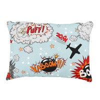 Comic Style Super Hero Design Decorative Pillow
