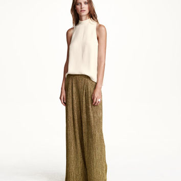 Pleated Pants - from H&M