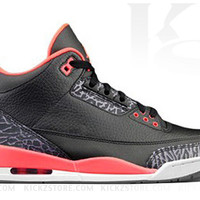 Air Jordan 3 Men's III Retro Bright Crimson