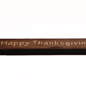 Happy Thanksgiving Small Wooden Home Decor Sign