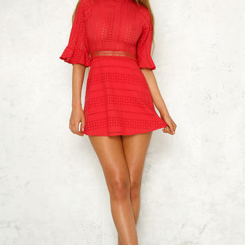King City Dress Red
