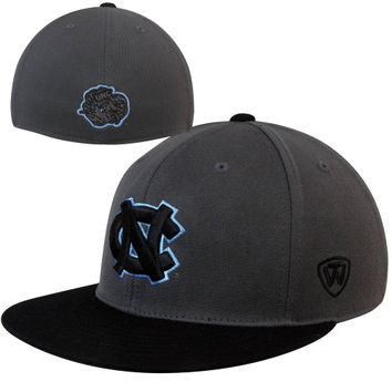 Top of the World North Carolina Tar Heels :UNC: Restricted 86 Flex Hat - Charcoal