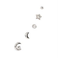 Moon Stud Set