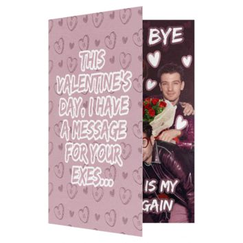 *NSYNC Bye Bye Bye Valentines Day Card (PLAYS SONG)
