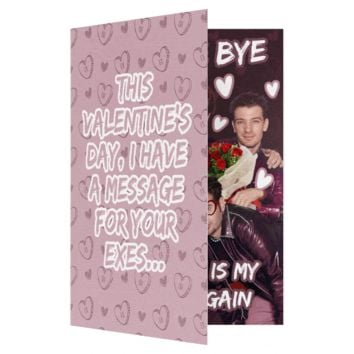NSync Bye Bye Bye Valentines Day Card (PLAYS SONG)
