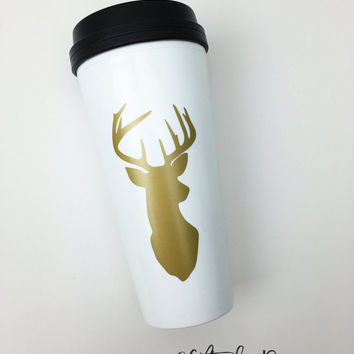 gift for best friend, coffee Travel Mug, valentines gifts, gifts for her, valentines day, gold mug, gifts, boss gift,tumbler mug, boss lady