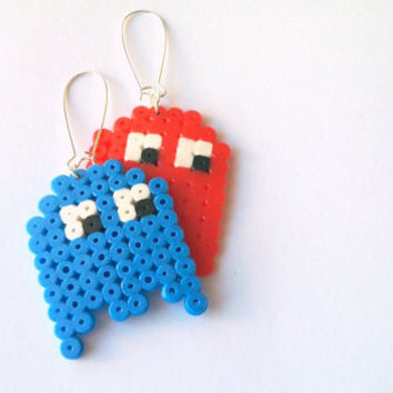 Pacman ghost earring, one earring, pick a color