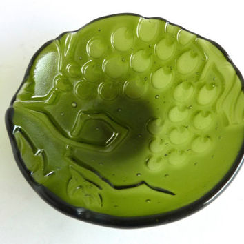 Small Green Olive or Condiment Dish