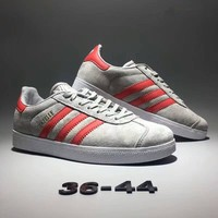 """Adidas Gazelle"" Unisex Sport Casual Retro Stripe Sneakers Couple Plate Shoes"