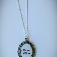 Mrs Tom Hiddleston Cameo Necklace