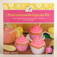 Pink Lemonade Cupcake Kit - World Market