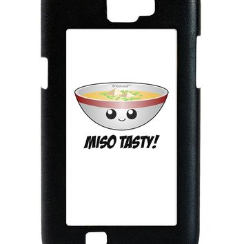 Miso Tasty - Cute Miso Soup Bowl Galaxy Note 2 Case  by TooLoud