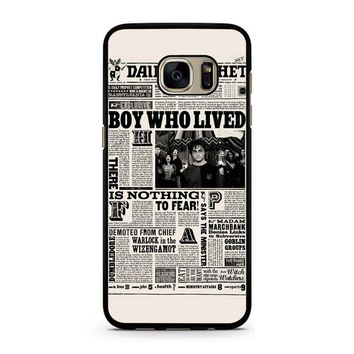 Harry Potter Daily Prophet Samsung Galaxy S7 Case