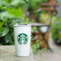 Starbucks® Double Wall Ceramic Traveler, 12 fl oz