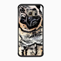 pugs alot dog for Samsung Galaxy S6 Edge Case *NS*