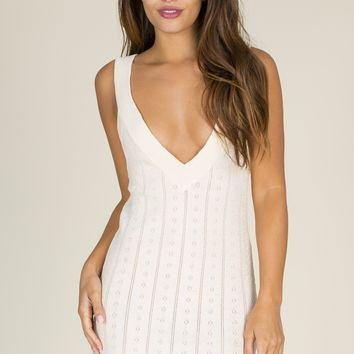 For Love & Lemons - Daiquiri Tank Dress | Ivory