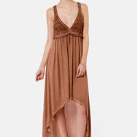 Black Sheep Gypsy Rose High-Low Dress