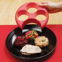 New Brand Meal Measure Weight Loss Diet Portion Plan Control Plate Manage Control Plate New Assorted Color KC1052
