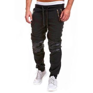 2017 Harem Pants Men Casual Trousers Pantalon Pants Cotton Sweatpants String Elastic Waist Slacks Baggy Jogger Dance