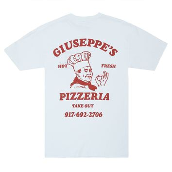 Call Me 917 Pizzeria T-Shirt (White)