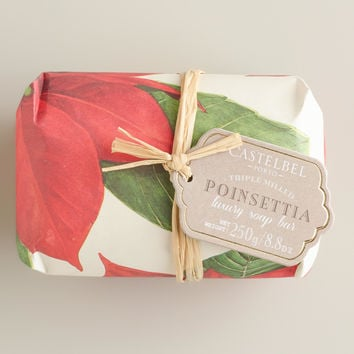 Castelbel Vintage Christmas Poinsettia Bar Soap - World Market