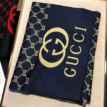 Perfect Gucci  Women Wool Scarf Shawl Scar