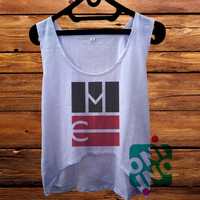 Magcon Boys Logo crop tank Women's Cropped Tank Top
