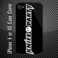 Knife Party Go Get Your Knife Custom iPhone 4 or iPhone 4S Case