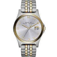 Marc by Marc Jacobs The Slim 3-Hand Two-Tone Watch