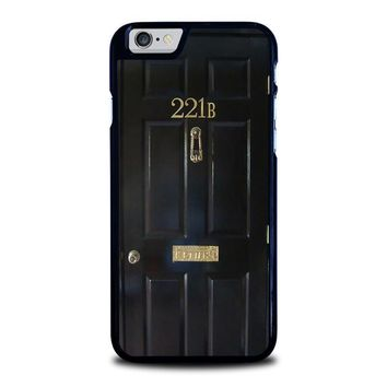 the door of sherlock holmes iphone 6 6s case cover  number 2