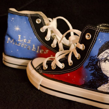 Les Miserables  Custom Converse by DevonsCustom on Etsy