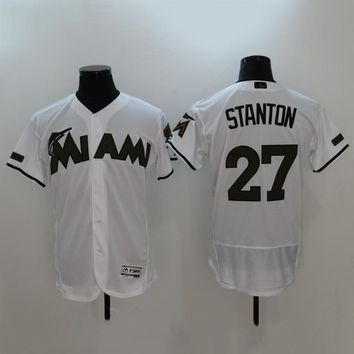 Men's MLB  Buttons Baseball Jersey  HY-17N11Y16D
