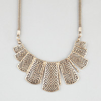 FULL TILT Ethnic Cutout Statement Necklace | Necklaces