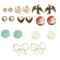 9 On Floral Earring Set | Wet Seal