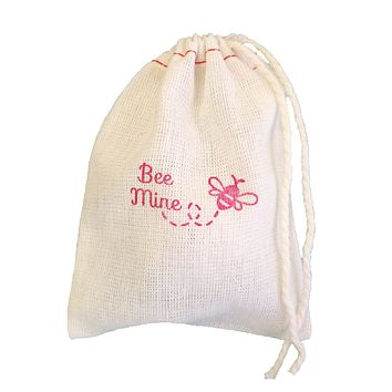 Bee Mine Cloth Bag - set of 4