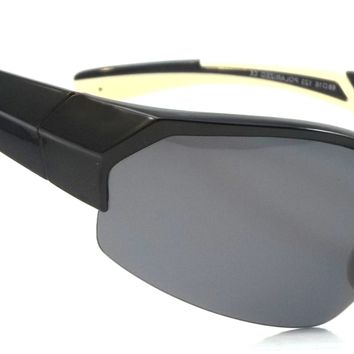 Cool Sport Polarized Sunglasses Driving Crave Wrap Around Style
