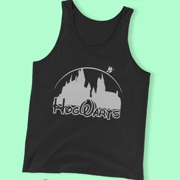 Harry Potter Hogwart Disney Castel Men'S Tank Top