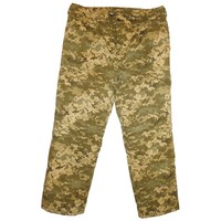 Winter Military Army Digital Camo Trousers Ukrainian Uniform BDU Suit Size S or 46 for Europe