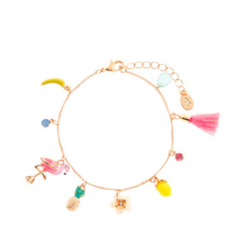 Tropical Fifi Clasp Bracelet | Multi | Accessorize